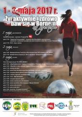 plakat sportowa majówka 2017
