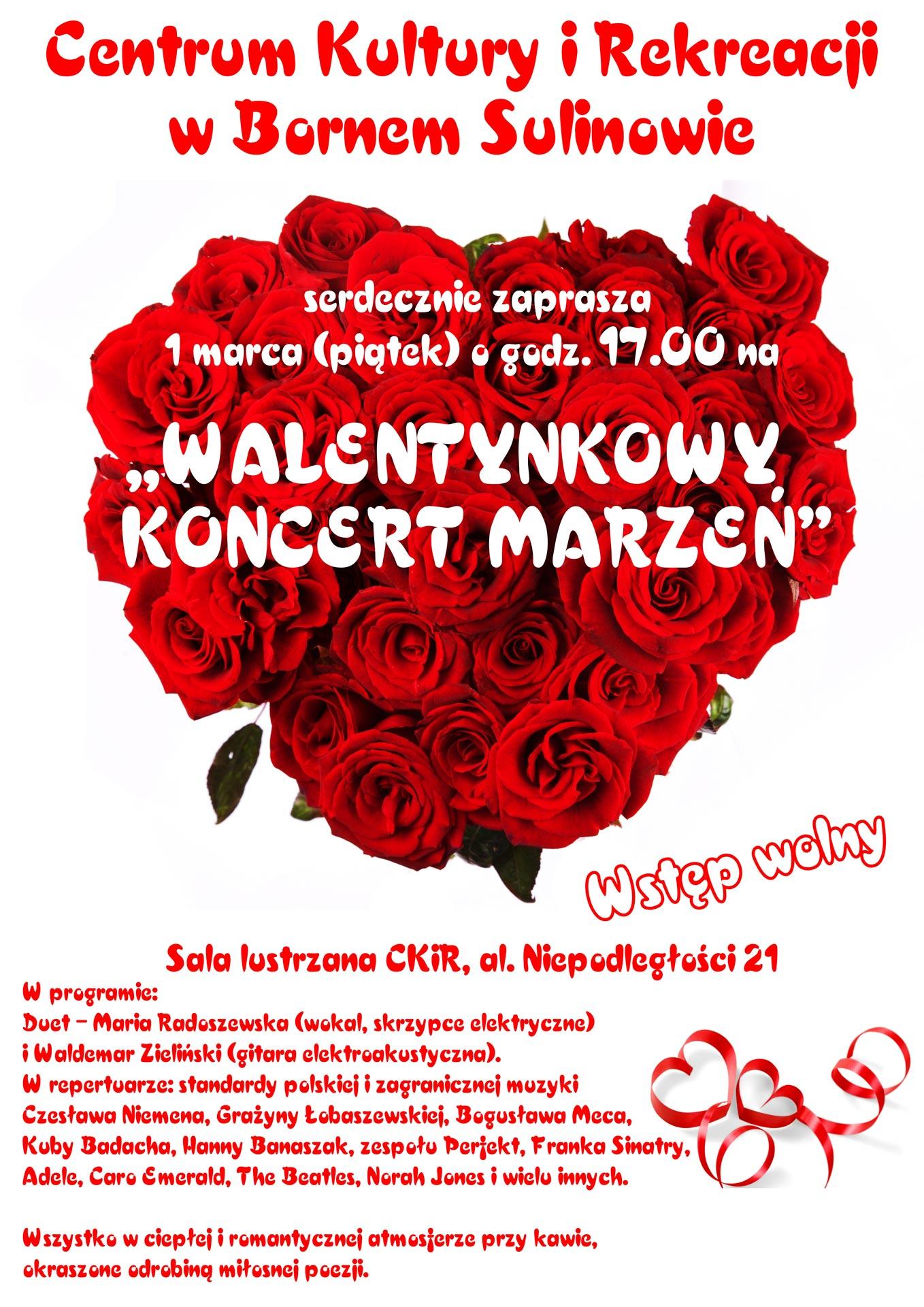 Walentynkowy Koncert Marzeń