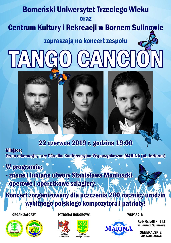 Koncert zespołu TANGO CANCION
