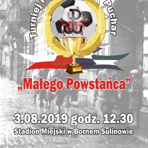 """Turniej Piłki Nożnej o Puchar """"Małego Powstańca"""""""