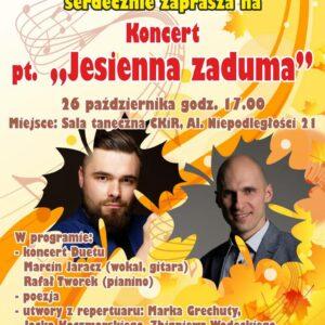 "Koncert ""Jesienna Zaduma"""