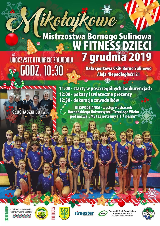 Mikołajkowe Mistrzostwa w Fitness Dzieci