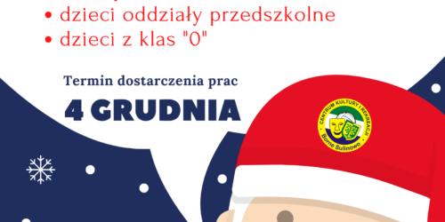 """Konkurs plastyczny """"Święty Mikołaj oczami milusińskich"""""""