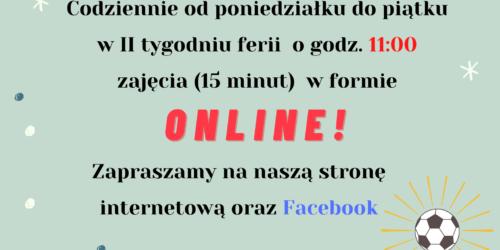 """""""Piłkarskie ferie"""" odc. 1"""
