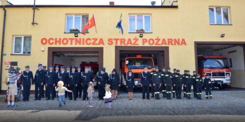 Doposażenie jednostki OSP w Łubowie w środki ochrony indywidualnej.