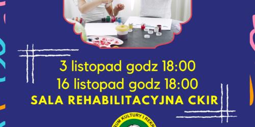 Zajęcia sensoplastyka 03.11 oraz 16.11.2021