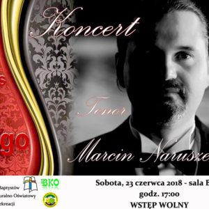 Koncert – Tenor Marcin Naruszewicz