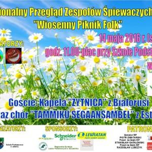 Wiosenny Piknik Folk