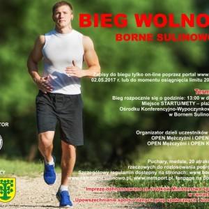 """""""BIEG WOLNOŚCI – BORNE SULINOWO 2017"""""""