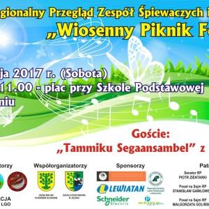 """VII Regionalny Przegląd Zespołów Śpiewaczych i Kapel """"Wiosenny Piknik Folk"""""""